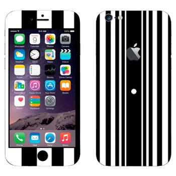 Виниловая наклейка «Эффект Доплера - Теория большого взрыва» на телефон Apple iPhone 6 Plus/6S Plus