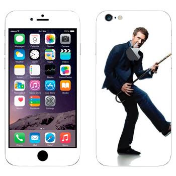 Виниловая наклейка «Грегори Хаус - Доктор Хаус» на телефон Apple iPhone 6 Plus/6S Plus