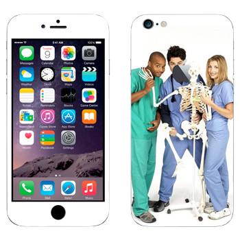 Виниловая наклейка «Клиника сериал» на телефон Apple iPhone 6 Plus/6S Plus