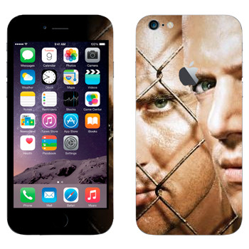 Виниловая наклейка «Майкл Скофилд и Линкольн Берроуз - Побег из тюрьмы» на телефон Apple iPhone 6 Plus/6S Plus