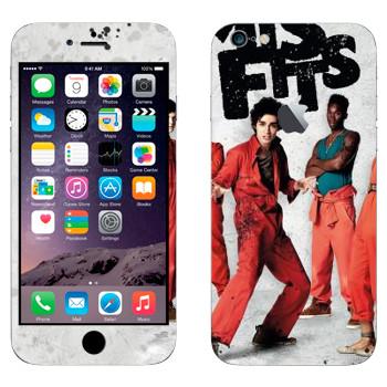 Виниловая наклейка «Отбросы 1-й сезон» на телефон Apple iPhone 6 Plus/6S Plus