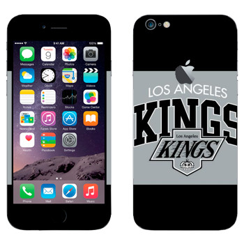 Виниловая наклейка «Los Angeles Kings» на телефон Apple iPhone 6 Plus/6S Plus