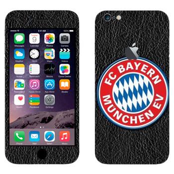 Виниловая наклейка «Бавария эмблема» на телефон Apple iPhone 6 Plus/6S Plus