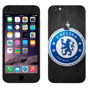 Виниловая наклейка «Челси эмблема» на телефон Apple iPhone 6 Plus/6S Plus