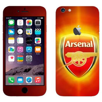 Виниловая наклейка «ФК Арсенал» на телефон Apple iPhone 6 Plus/6S Plus