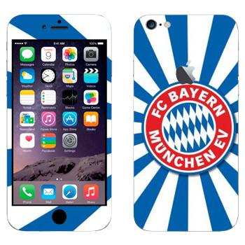 Виниловая наклейка «ФК Бавария эмблема» на телефон Apple iPhone 6 Plus/6S Plus