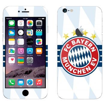 Виниловая наклейка «ФК Бавария Мюнхен» на телефон Apple iPhone 6 Plus/6S Plus