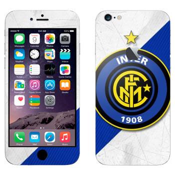 Виниловая наклейка «ФК Интер эмблема» на телефон Apple iPhone 6 Plus/6S Plus