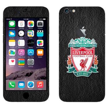 Виниловая наклейка «Ливерпуль эмблема» на телефон Apple iPhone 6 Plus/6S Plus