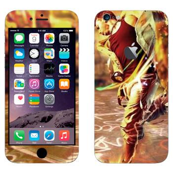 Виниловая наклейка «Современные танцы» на телефон Apple iPhone 6 Plus/6S Plus