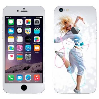 Виниловая наклейка «Современный танец» на телефон Apple iPhone 6 Plus/6S Plus