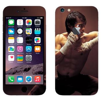 Виниловая наклейка «Удар локтем - Муай Тай» на телефон Apple iPhone 6 Plus/6S Plus