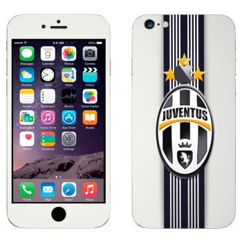 Виниловая наклейка «Ювентус эмблема на белом фоне» на телефон Apple iPhone 6 Plus/6S Plus