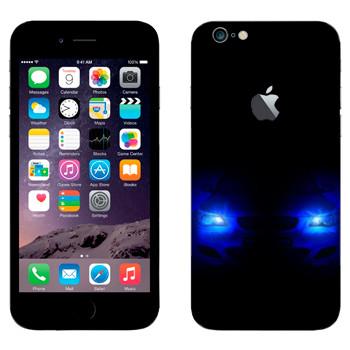 Виниловая наклейка «BMW - Свет фар» на телефон Apple iPhone 6 Plus/6S Plus