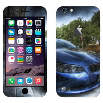 Виниловая наклейка «BMW рисунок» на телефон Apple iPhone 6 Plus/6S Plus