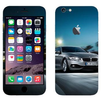 Виниловая наклейка «BMW скорость» на телефон Apple iPhone 6 Plus/6S Plus