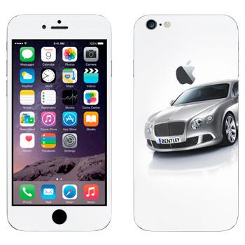 Виниловая наклейка «Bentley» на телефон Apple iPhone 6 Plus/6S Plus