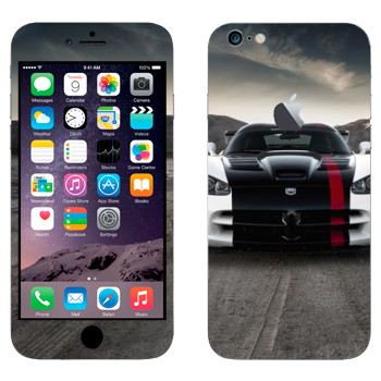 Виниловая наклейка «Dodge Viper» на телефон Apple iPhone 6 Plus/6S Plus