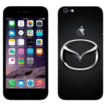 Виниловая наклейка «Mazda значок» на телефон Apple iPhone 6 Plus/6S Plus