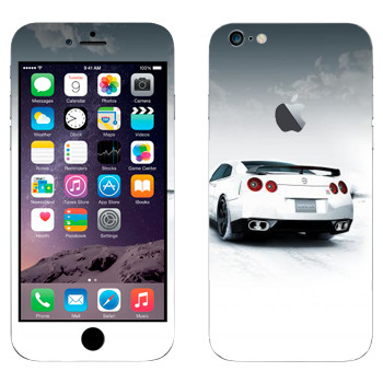 Виниловая наклейка «Nissan GTR» на телефон Apple iPhone 6 Plus/6S Plus
