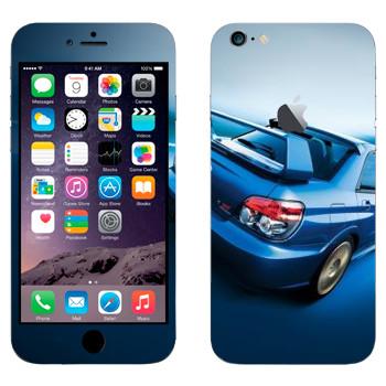 Виниловая наклейка «Subaru Impreza WRX» на телефон Apple iPhone 6 Plus/6S Plus