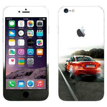 Виниловая наклейка «Красная BMW» на телефон Apple iPhone 6 Plus/6S Plus