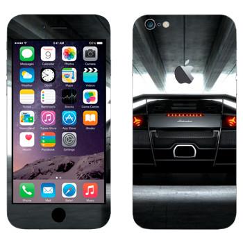 Виниловая наклейка «Ламборджини Мурселаго LP 670 -4 SuperVeloce» на телефон Apple iPhone 6 Plus/6S Plus
