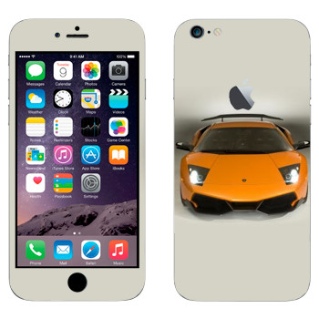 Виниловая наклейка «Ламборгини Мурсьелаго» на телефон Apple iPhone 6 Plus/6S Plus