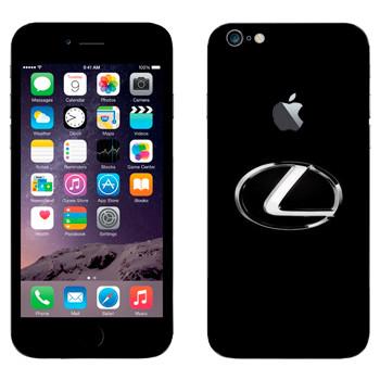 Виниловая наклейка «Логотип Лексус» на телефон Apple iPhone 6 Plus/6S Plus