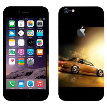 Виниловая наклейка «Ниссан Silvia S13» на телефон Apple iPhone 6 Plus/6S Plus