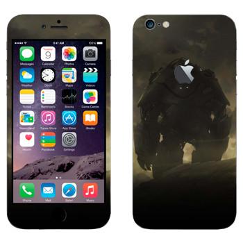 Виниловая наклейка «Робот в сумраке» на телефон Apple iPhone 6 Plus/6S Plus