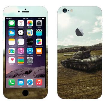Виниловая наклейка «Танк T-44» на телефон Apple iPhone 6 Plus/6S Plus