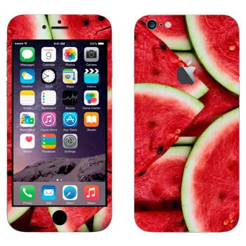 Виниловая наклейка «Арбузы» на телефон Apple iPhone 6 Plus/6S Plus