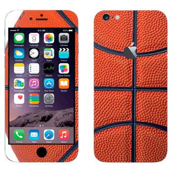 Виниловая наклейка «Баскетбольный мяч» на телефон Apple iPhone 6 Plus/6S Plus