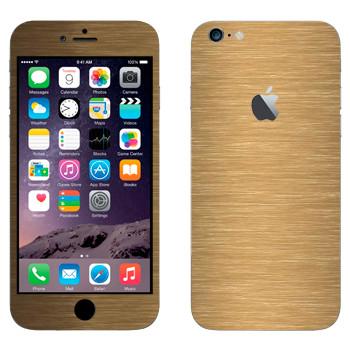 Виниловая наклейка «Бронза» на телефон Apple iPhone 6 Plus/6S Plus