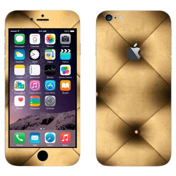 Виниловая наклейка «Бронзовая обивка» на телефон Apple iPhone 6 Plus/6S Plus