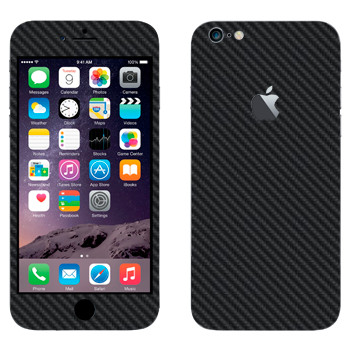 Виниловая наклейка «Карбон» на телефон Apple iPhone 6 Plus/6S Plus