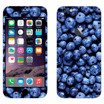 Виниловая наклейка «Черника» на телефон Apple iPhone 6 Plus/6S Plus