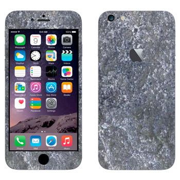 Виниловая наклейка «Гранитная поверхность» на телефон Apple iPhone 6 Plus/6S Plus