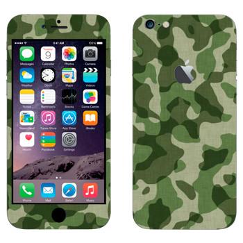 Виниловая наклейка «Камуфляж» на телефон Apple iPhone 6 Plus/6S Plus