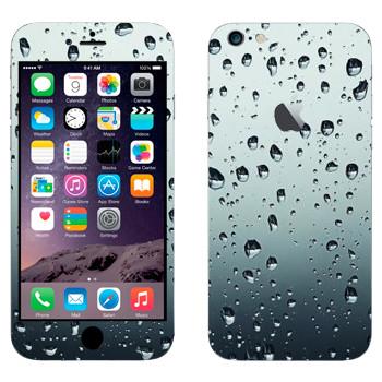 Виниловая наклейка «Капли воды» на телефон Apple iPhone 6 Plus/6S Plus