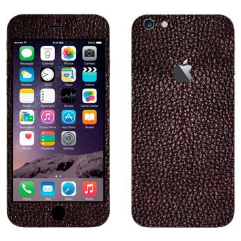 Виниловая наклейка «Кожа Vermillion» на телефон Apple iPhone 6 Plus/6S Plus