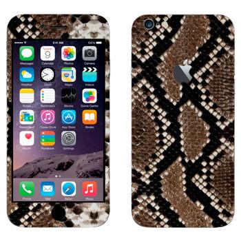 Виниловая наклейка «Кожа змеиная» на телефон Apple iPhone 6 Plus/6S Plus