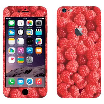 Виниловая наклейка «Малина» на телефон Apple iPhone 6 Plus/6S Plus