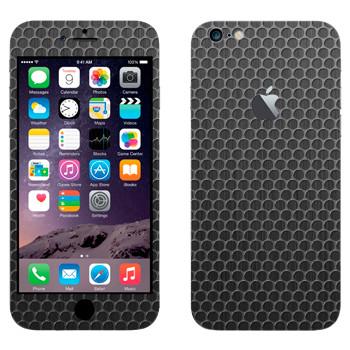 Виниловая наклейка «Металлическая решетка мелкая» на телефон Apple iPhone 6 Plus/6S Plus