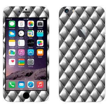 Виниловая наклейка «Металлические ромбы» на телефон Apple iPhone 6 Plus/6S Plus