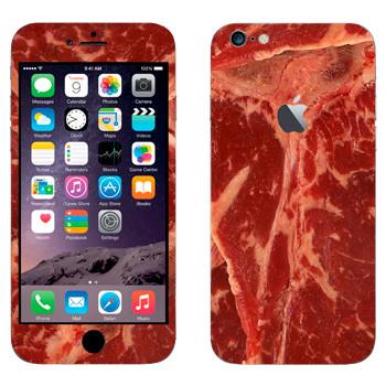 Виниловая наклейка «Мясо» на телефон Apple iPhone 6 Plus/6S Plus