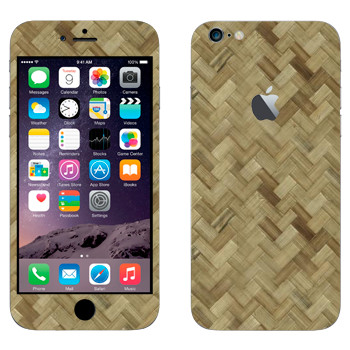 Виниловая наклейка «Плетение» на телефон Apple iPhone 6 Plus/6S Plus