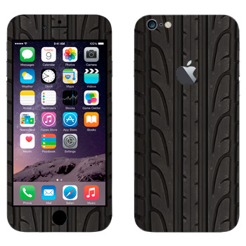 Виниловая наклейка «Протектор шины» на телефон Apple iPhone 6 Plus/6S Plus