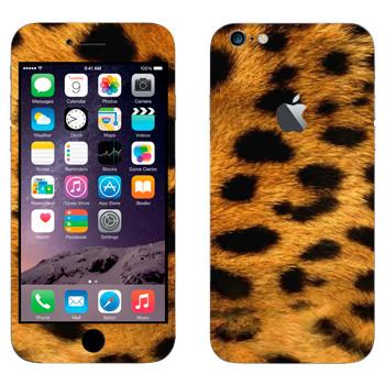 Виниловая наклейка «Шкура гепарда» на телефон Apple iPhone 6 Plus/6S Plus
